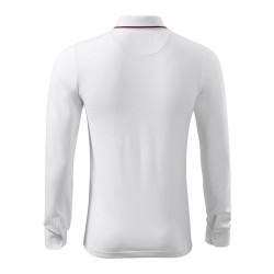 Koszulka polo męska Contrast Stripe LS 258 MALFINIPREMIUM Koszulki Polo - 6