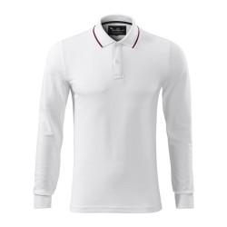 Koszulka polo męska Contrast Stripe LS 258 MALFINIPREMIUM Koszulki Polo - 4