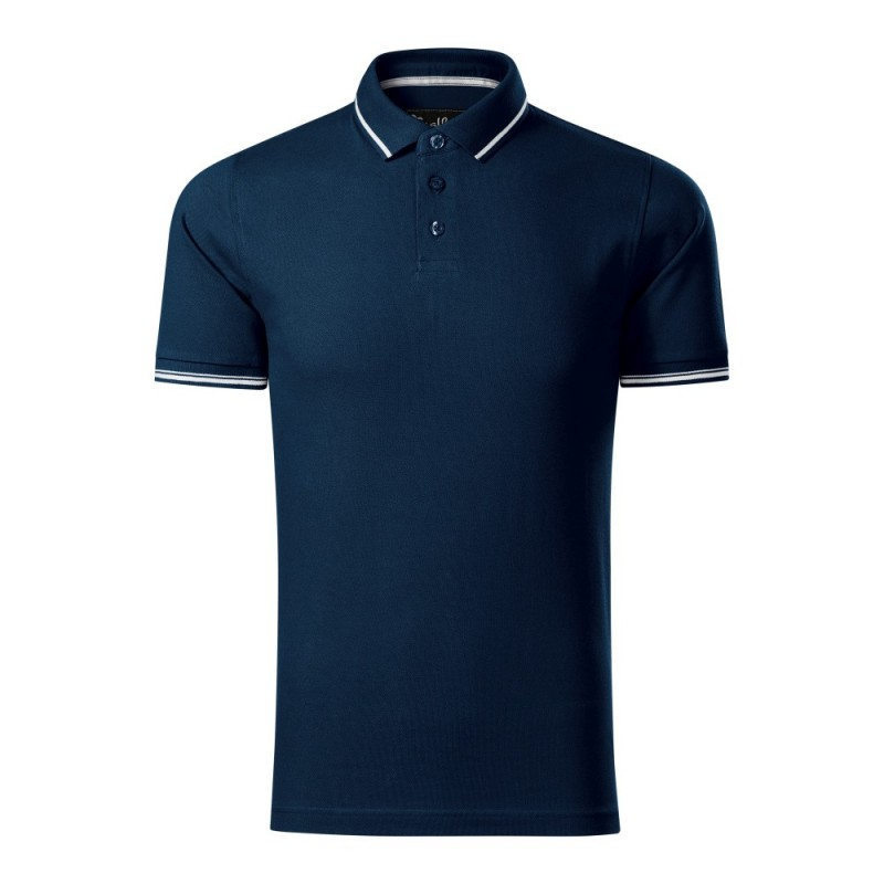 Koszulka polo męska Perfection plain 251 MALFINIPREMIUM Koszulki Polo - 4