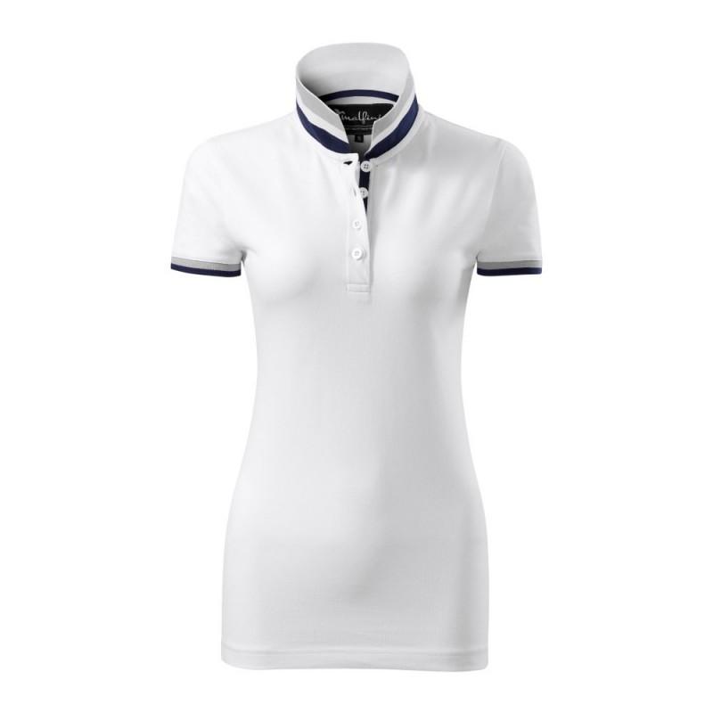 Koszulka polo damska Collar Up 257 MALFINIPREMIUM Koszulki Polo - 4