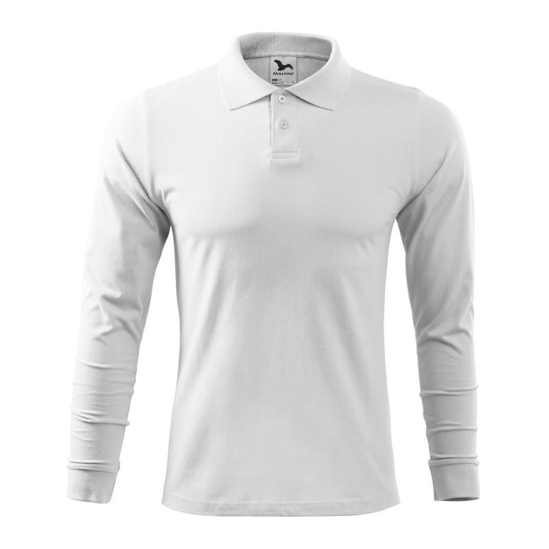 Koszulka polo męska Single J. LS 211 MALFINI Koszulki Polo - 16