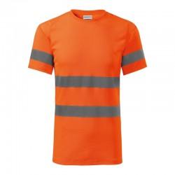 Koszulka unisex HV Protect 1V9 RIMECK Odzież robocza - 3