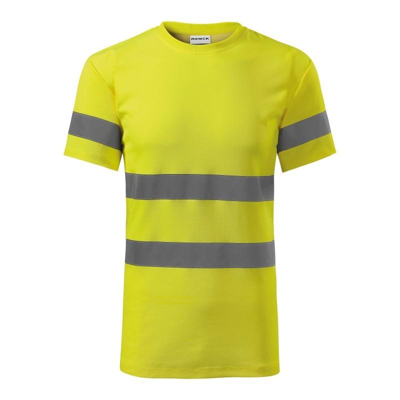 Koszulka unisex HV Protect 1V9 RIMECK Odzież robocza - 1