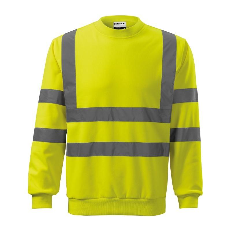 Bluza unisex HV Essential 4V6 RIMECK Odzież robocza - 1