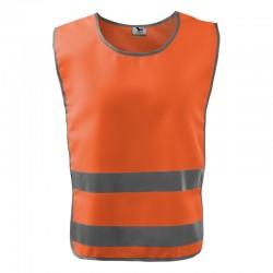 Kamizelka odblaskowa unisex Classic Safety Vest 910 RIMECK Odzież robocza - 1