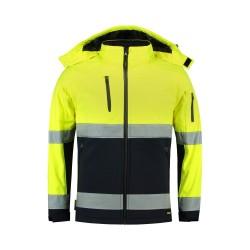 Softshell kurtka unisex Bi-color EN ISO 20471 Softshell T52 TRICORP Odzież robocza - 1