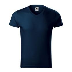 Koszulka męska Slim Fit V-neck 146 MALFINI Koszulki - 3