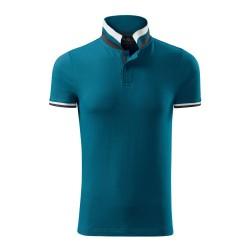 Koszulka polo męska Collar Up 256 MALFINIPREMIUM Koszulki Polo - 4