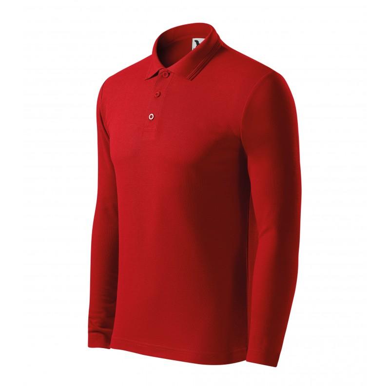 Koszulka polo męska Pique Polo LS 22Y MALFINI Wyprzedaż - 1