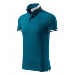 Koszulka polo męska Collar Up 256 MALFINIPREMIUM Koszulki Polo - 5